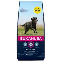 EUKANUBA Adult Large Breed 15kg + 3kg GRATIS