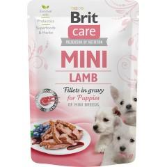 BRIT CARE Mini Lamb Puppies 85g (saszetka)