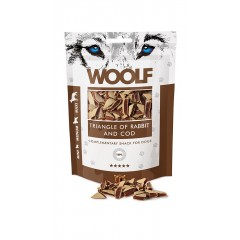 WOOLF Rabbit and Cod Triangle 100g