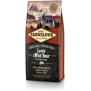 CARNILOVE Grain-Free Adult Lamb & Wild Boar - Jagnięcina i Dzik