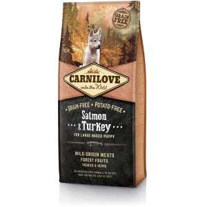 CARNILOVE Grain-Free Puppy Large Breed Salmon & Turkey - Łosoś i Indyk