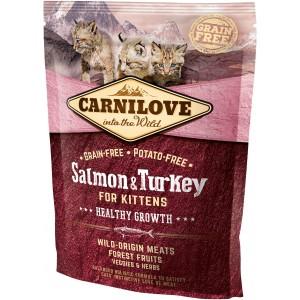 CARNILOVE CAT Grain-Free Salmon and Turkey for Kittens - Łosoś i Indyk
