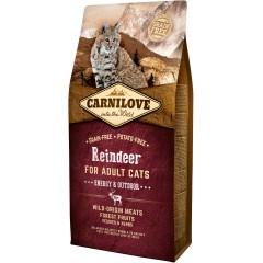 CARNILOVE CAT Grain-Free Reindeer Energy and Outdoor - Renifer