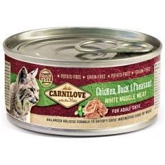 CARNILOVE CAT Adult Chicken, Duck and Pheasant - puszka