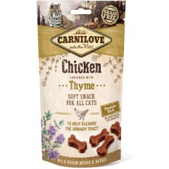 CARNILOVE Cat Soft Chicken Thyme 50g