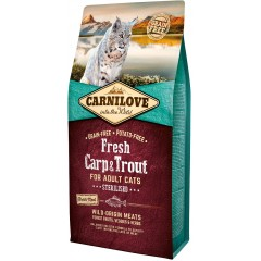 CARNILOVE CAT Fresh Carp and Trout - Sterilised