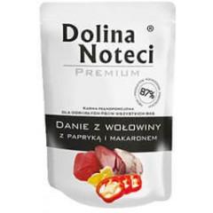 DOLINA NOTECI Danie dla Psa Wołowina z Papryką 300g (saszetka)
