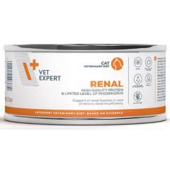 VETEXPERT 4T Vet. Diet Cat Renal 100g (puszka)