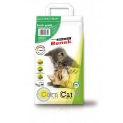 SUPER BENEK Corn Cat Zapachowy - Świeża Trawa