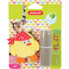 ZOLUX Zabawka dla kota PIRAT - żółty
