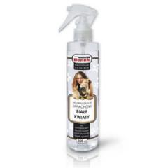 SUPER BENEK Neutralizator zapachów spray 250ml - Białe kwiaty