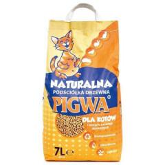 PIGWA Drzewna podściółka dla kotów i gryzoni 7l