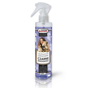 SUPER BENEK Neutralizator zapachów spray 250ml - Czarne winogrono