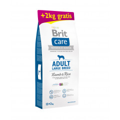 BRIT CARE Adult Large Breed Lamb & Rice 12kg + 2kg GRATIS