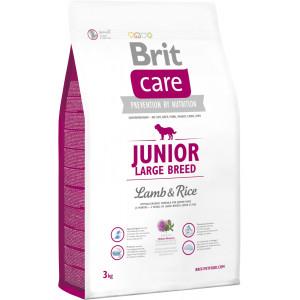 BRIT CARE Junior Large Breed Lamb & Rice