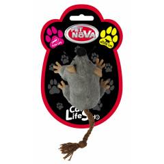 PET NOVA Zabawka dla kota myszka pluszowa - 7x5cm