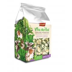 VITAPOL Vitaherbal Zielone warzywa dla gryzoni i królika 150g