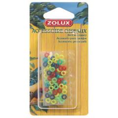 ZOLUX Obrączki plastikowe dla kanarków i ptaków egzotycznych 50 szt.