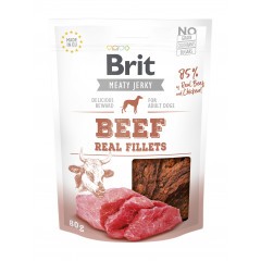 BRIT JERKY Beef and Chicken Fillets