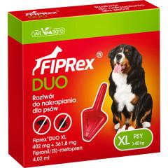 FIPREX DUO Krople XL (powyżej 40 kg) (1 pipeta x 4,02 ml)