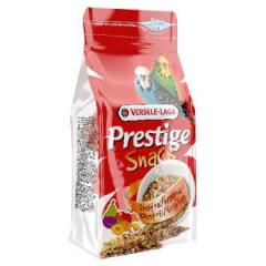 VERSELE-LAGA Prestige Snack Budgies - przysmak z biszkoptami i owocami dla papużek falistych 125g