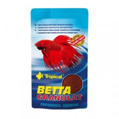 TROPICAL Betta Granulat - pokarm dla bojowników -  torebka 10g