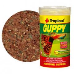TROPICAL Guppy - pokarm dla gupików 100ml/20g