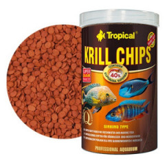 TROPICAL Krill Chips - wybarwiający pokarm z krylem dla ryb 250ml/125g
