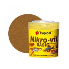 TROPICAL Mikrovit Basic - pokarm podstawowy dla narybku 50ml/32g