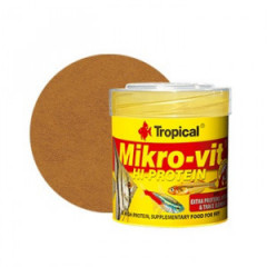 TROPICAL Mikrovit High-Protein - wysokobiałkowy pokarm dla narybku 50ml/32g