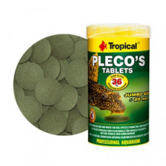 TROPICAL Pleco's Tablets - pokarm dla dużych zbrojników 50ml/30g