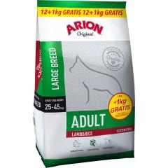 ARION Original Adult Large Lamb & Rice 12kg + 1kg GRATIS
