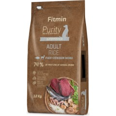 Fitmin Purity Rice Adult Fish & Venison
