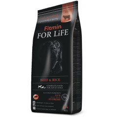 FITMIN For Life Dog Beef and Rice 14kg