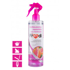 BE FRENDI Spray Neutralizator Zapachów - Grejpfrut i Białe Piżmo 400 ml