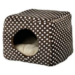 TRIXIE Domek / legowisko pluszowe Mina dla kota 40x32x40cm