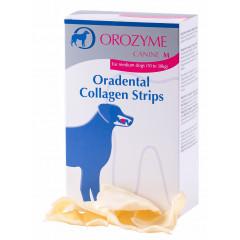 OROZYME Collagen Strips Płatki kolagenowe do żucia