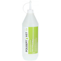 POLISEPT VET Wound Irrigation Silver Pro - płyn do przemywania ran 500ml