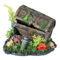 TRIXIE Dekoracja akwarium - Skrzynia skarbów 17cm