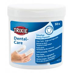 TRIXIE Dental Care Czyste zęby - nakładki na palce 50 szt.