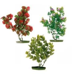 TRIXIE Dekoracja akwarium - Rośliny sztuczne małe 17cm 6szt.