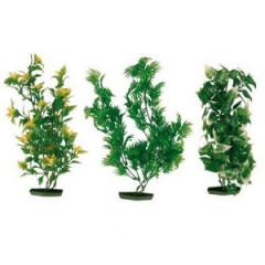 TRIXIE Dekoracja akwarium - Rośliny sztuczne średnie 25cm 6szt.