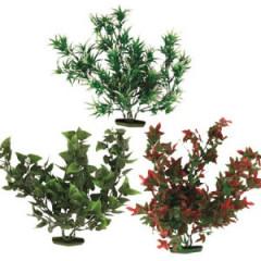 TRIXIE Dekoracja akwarium - Rośliny sztuczne duże 28cm 6szt.
