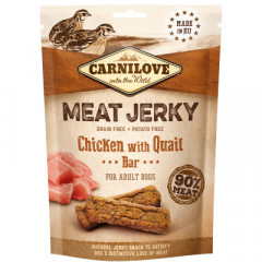 CARNILOVE JERKY Chicken with Quail Bar 100g