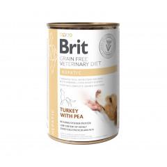 BRIT Grain Free Veterinary Diets Dog Can Hepatic 400g (puszka)