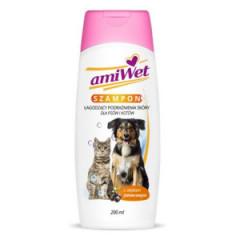 EUROWET Amiwet - Szampon łagodzący podrażnienia dla psów i kotów 200ml