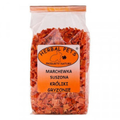 HERBAL PETS Marchewka suszona - Króliki, gryzonie 125g