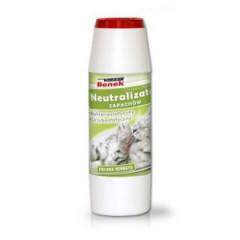 SUPER BENEK Neutralizator zapachów granulat 500g - Zielona herbata