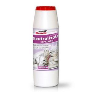 SUPER BENEK Neutralizator zapachów granulat 500g - Lawendowy