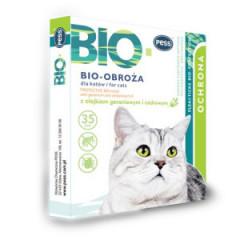 PESS Bio Obroża z olejkiem geraniowym dla kotów dł. 35cm